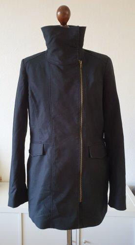 Übergangsjacke von  Esprit * Gr.40 *  schwarz  * Reißverschluss-Details