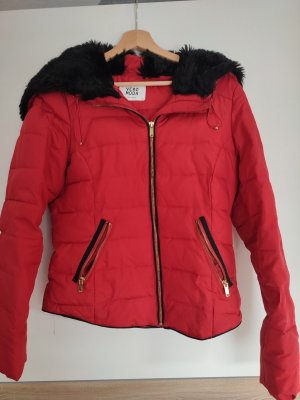 Vero Moda Between-Seasons Jacket black-red