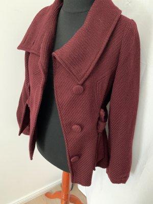 H&M Marynarska kurtka brązowo-czerwony-bordo