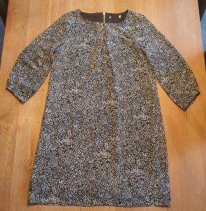 Übergangskleid, 2-lagig in schwarz/weiß, Größe 36