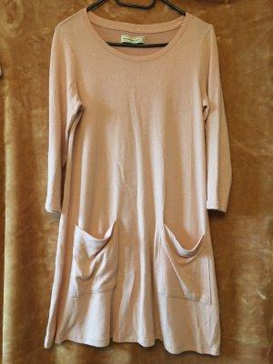 Abercrombie & Fitch Sukienka midi różowy