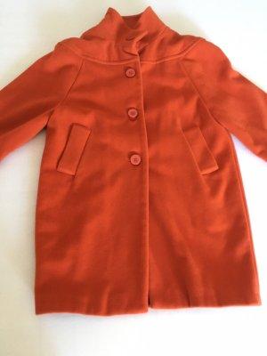 Apart Płaszcz oversize pomarańczowy-łosowiowy