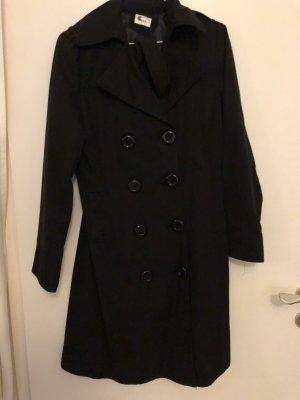 Trenchcoat noir