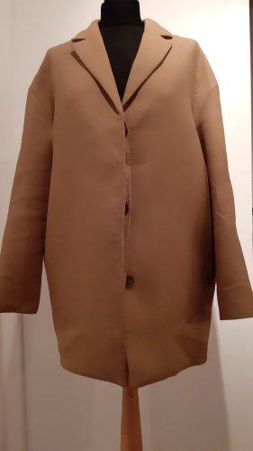COS Oversized jas camel Gemengd weefsel