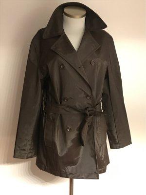 adessa Manteau court brun noir