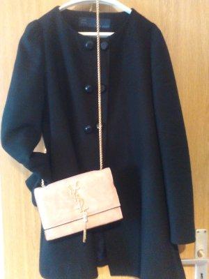 Zara Basic Abrigo de entretiempo negro