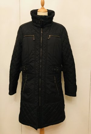 Yessica Quilted Coat black polyester
