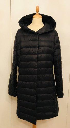 Hugo Boss Hooded Coat black polyamide