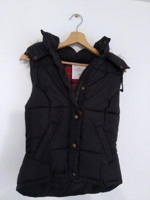 H&M Smanicato con cappuccio nero