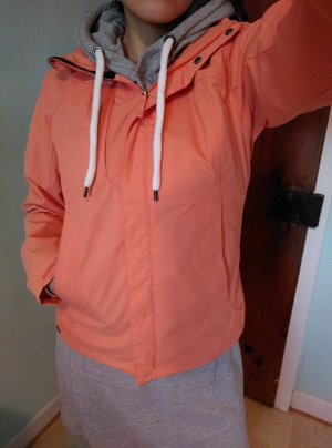 Übergansjacke in orange