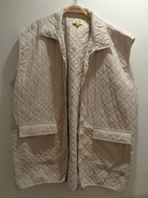 Colours Quilted Gilet gold-colored
