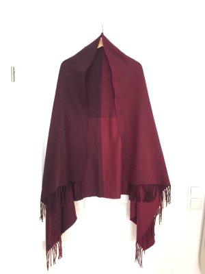 Übergroßes dickes Tuch mit Rottönen von H&M