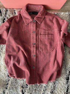 Überhemd locker XS Oversize Zara neu Jacke