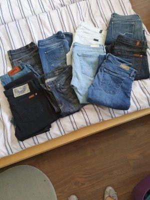 7 For All Mankind Jeans boyfriend multicolore
