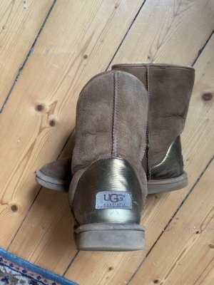 UGG Winter Boots beige-gold-colored