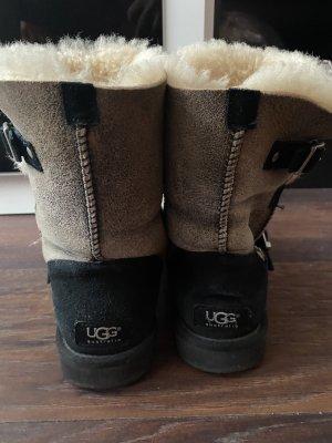 UGG Australia Botas de nieve marrón-crema