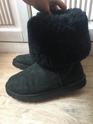 UGG Abree II Gr 39 schwarz NP 200€ Schafsfell  Stiefel Boots