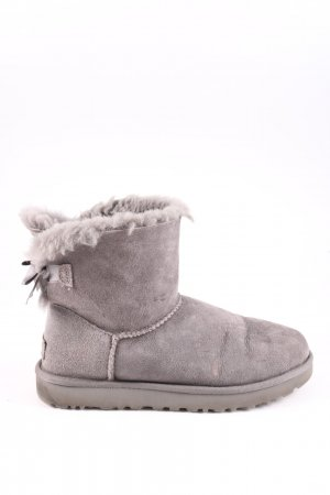 UGG Australia Ankle Boots hellgrau Casual-Look