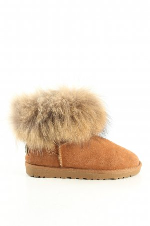 UGG Australia Ankle Boots braun Motivdruck Casual-Look