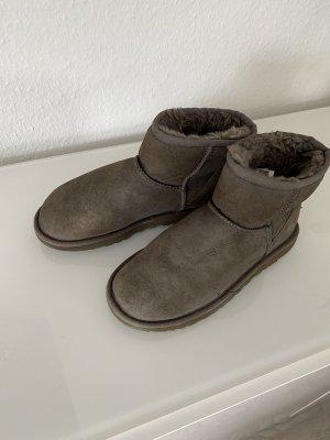 UGG Australia Laarzen met bont grijs-grijs-bruin