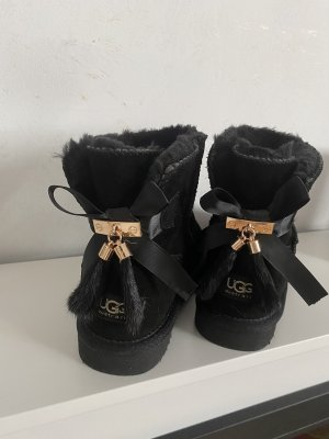 UGG Australia Low boot noir-doré