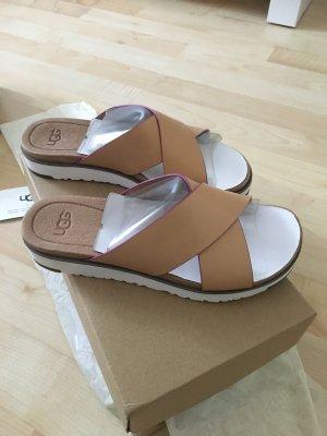 UGG Australia Comfortabele sandalen nude Leer