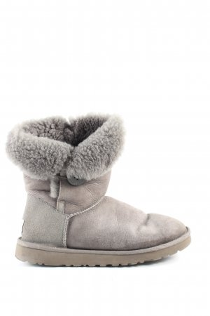 UGG Australia Fur Boots light grey casual look