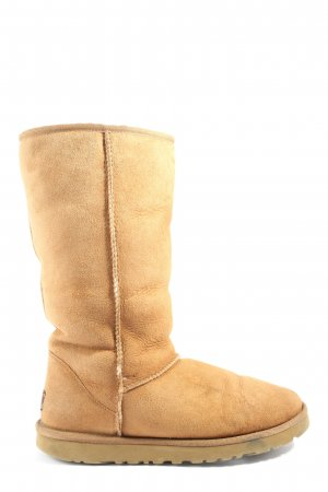 UGG Australia Fur Boots brown casual look