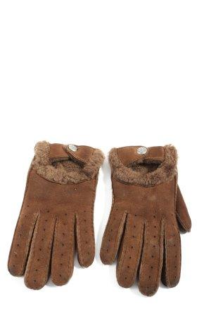 UGG Australia Leren handschoenen bruin casual uitstraling