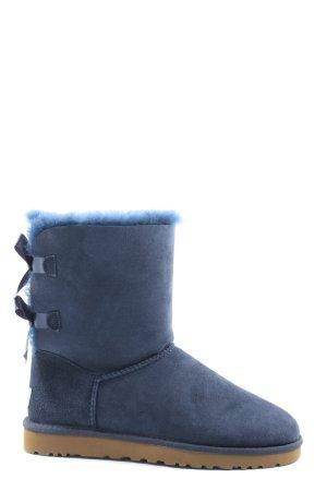 UGG Australia Slouch Booties blue elegant