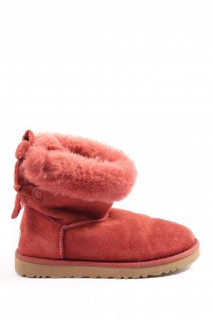 UGG Australia Snowboots rot Casual-Look