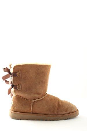 UGG Australia Winter-Stiefeletten braun Casual-Look