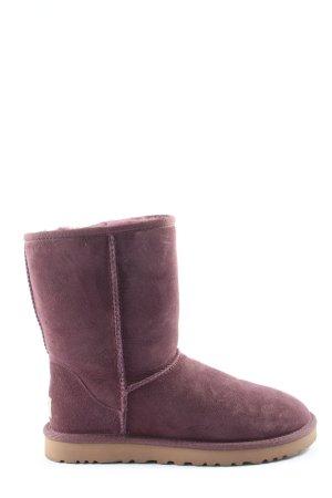 UGG Australia Bottes d'hiver violet style décontracté