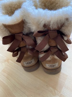 UGG Winter Boots light brown-natural white