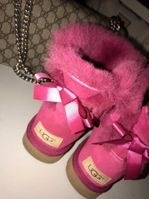 UGG Bailey Bow Pink