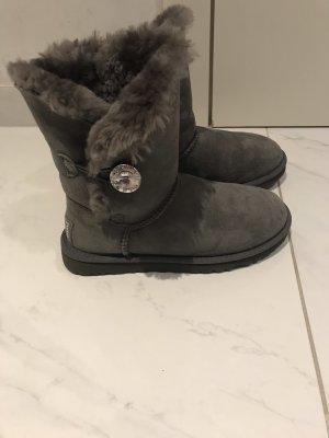 UGG Bottes de neige gris-gris foncé