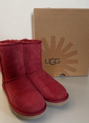 UGG Australia Stivale da neve rosso lampone