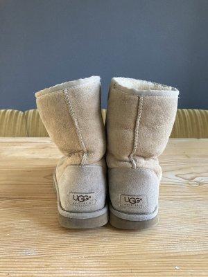 UGG Bottes de neige beige-crème