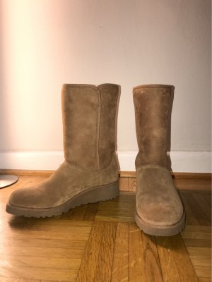 UGG Australia Fur Boots light brown-brown