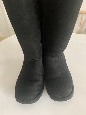 UGG Australia Laarzen met bont zwart