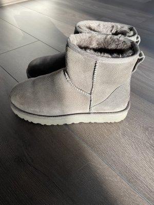 UGG Laarzen met bont grijs
