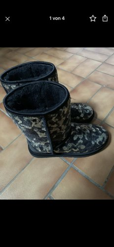 UGG Sneeuwlaarzen zwart-grijs