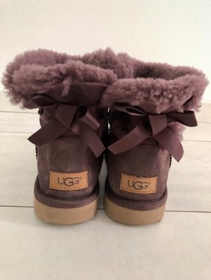UGG Snow Boots blackberry-red