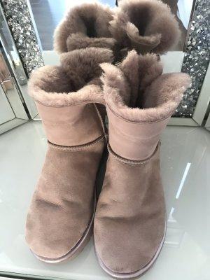 UGG Bottes de neige vieux rose-rosé