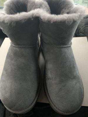 Ugg Boots Bailey Button bling grau 39 mini