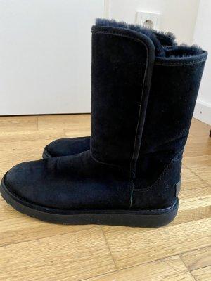 UGG boots Classic Slim schwarz