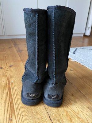 UGG Boots Classic Tall schwarz W8/Gr.40