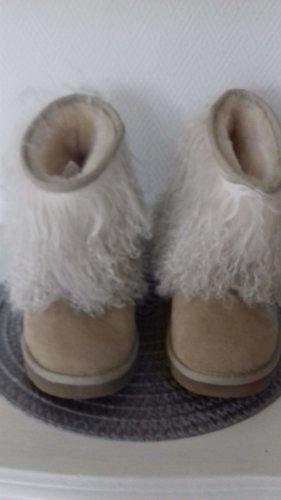 UGG -Boots - Fellstiefel m Schaffellmanschette- Toscana Lamm-Gr.38