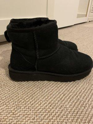 Ugg boots gr 38 schwarz top Stiefel winter warm