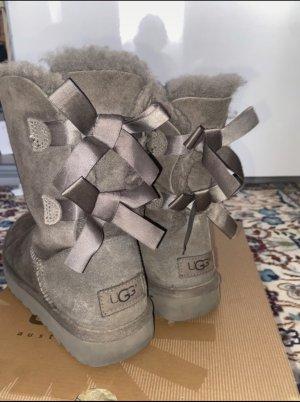 UGG Snow Boots grey mixture fibre